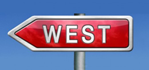 west-sign