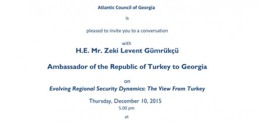 Invitation---Conversation-with-H.E.-Mr.-Zeki-Levent-Gümrükçü,-Ambassador-of-the-Republic-of-Turkey-to-Georgia